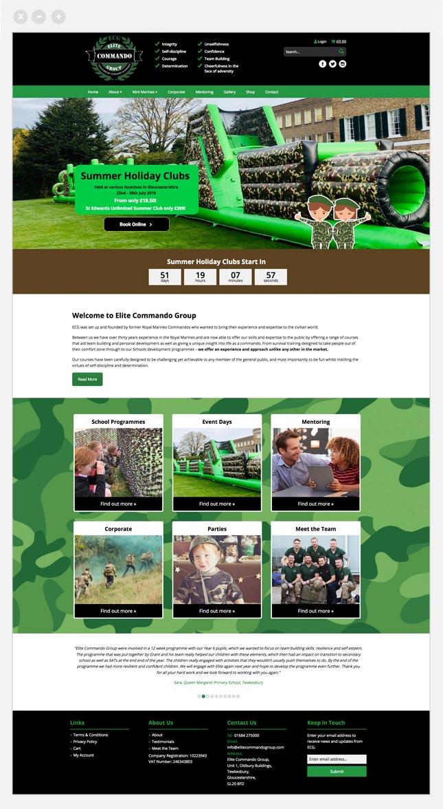 web page ecs